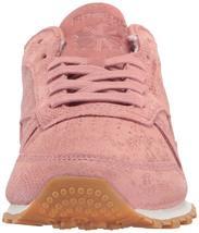 Reebok Women's CL LTHR Clean Exotic Print Track Shoe, image 10