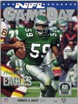 Dallas Cowboys v Philadelphia Eagles 1992 NFL Gameday Program Smith Aikm... - $39.54