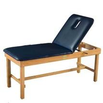 Oak Table w/ Liftback/Nosehole (Foot) 30'' x 78''-Regimental Blue - $785.51