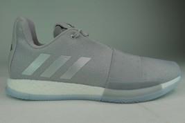 Adidas Harden Volume 3 F36443 Men Size 11.5 Grey Metallic New Basketball - $139.99