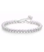 Silver color Beads Party Wedding Bracelets & Bangles Fashion Love - $9.99