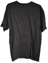 Reebok Men's Dark Gray Cotton Blend Crew Neck T-Shirt Size L image 2