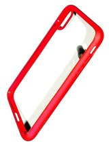 Spigen Ultra Hybrid Case for iPhone X / XS Clear / Red - $4.95