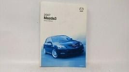 2007 Mazda 3 Owners Manual 72999 - $37.61