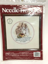 Blackberries For Supper Counted Cross Stitch Kit Needle Treasures 02606 New Vtg - $19.79