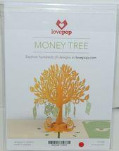 Lovepop LP1089 Money Tree Pop Up Card White Envelope Cellophane Wrapped Pkg 1 image 6