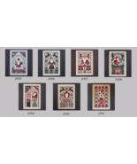 FULL BUNDLE CHARTS Santa Limited Edition charts (7 charts) Prairie Schoo... - $35.70