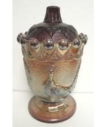 Vintage Amethyst Peacock Westmoreland Sugar Jar - $30.39
