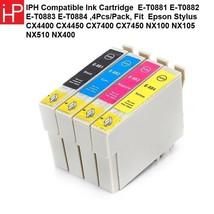 IPH Compatible Ink Cartridge E-T0881 E-T0882 E-T0883 E-T0884 , Fit Epson - $17.74