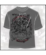 Star Wars Darth Vader Figure & Logos Salvage T-Shirt NEW UNWORN - $14.50