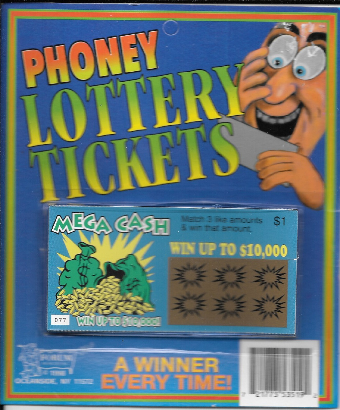Lottery tickets fake 51 53519