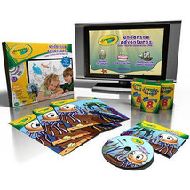 Crayola Undersea Adventures Color Stories Interactive DVD - $17.99
