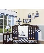 13 PC BOYS Explorer Nautical Crib Bedding Set - $129.99