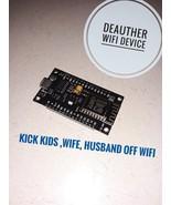 Hacking WiFi Jammer ch340 chip Deauther Attacks NodeMcu Lua ESP8266 Deau... - $16.99