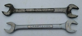 """Craftsman Double Open End Wrenches 3/4""""X7/8"""" & 5/8""""X3/4"""" Lot of 2 - $14.99"""