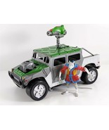 Teenage Mutant Ninja Turtles Mutant Marauder Turtle Tracker Humvee 1997 ... - $39.59