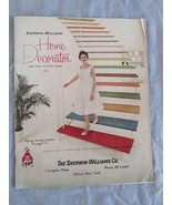 Vintage 1961 Sherwin-Williams Home Decorator Paint Catalog How To Paint ... - $24.79