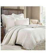 Levtex Home Queen Quilt Sandwashed Ivory Extra Soft - $79.19