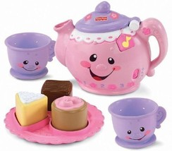 Fisher-Price Laugh & Learn Say Please Tea Set #3R5 .HN#GG_634T6344 G1345... - $13.86