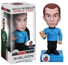 Big Bang Theory Wacky Wobbler SHELDON COOPER Bobble Head Figure NEW Coll... - $19.25