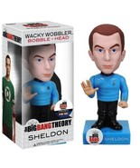 Big Bang Theory Wacky Wobbler SHELDON COOPER Bobble Head Figure NEW Coll... - $19.25