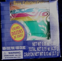 Dudley's Neon Coloring Cups -  Set of 5 - With Color Tablets - BRAND NEW - $5.93