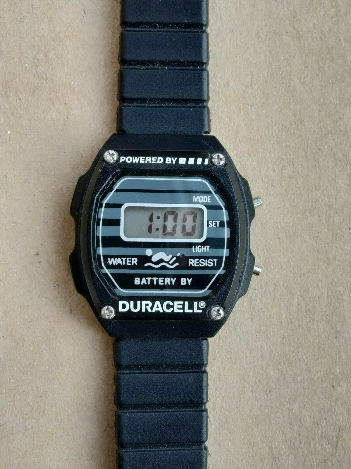 Primary image for Duracell women's or youth vintage digital quartz watch
