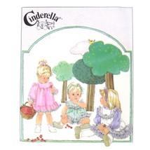 Simplicity Sewing Pattern 7987 Toddlers Dress Pinafore Panties Cinderell... - $6.95