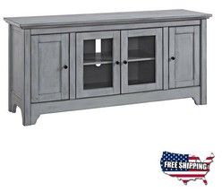 55 inch TV Stand Buffet Storage Cabinet Media Unit Display Wood Home Fur... - $430.25