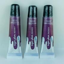 3-Pack Bath & Body Works Sugar Plum Berry Shimmer Lip Gloss 14 ml/0.47 ml Each - $23.71