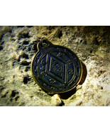 SEAL of SOLOMON AMULET Freemasonry Secret Society Ceremonial Magic izida haunted - $122.00