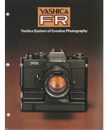 Yashica FR Brochure System of Creative Photography - $4.00