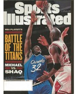 ORIGINAL Vintage May 22 1995 Sports Illustrated Shaquille O'Neal Michael... - $19.79
