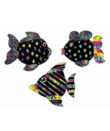 "Magic Color Scratch Fish Ornaments  (24 Pack) 4"" - $12.34"