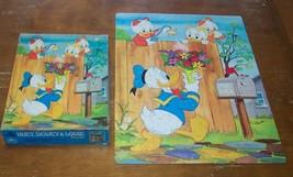 VINTAGE 1983 Walt Disney Donald Duck Huey, Dewey & Louie PUZZLE 100 Pieces - $16.34