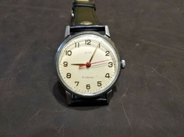 ZIM  mens wrist watch  vintage 15 Jewels 1960s Original USSR RARE  - $60.00