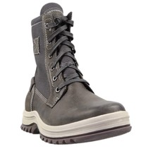 Mens Rockport World Explorer Hydro-Shield Tall Boots - Grey Leather [SCH2940] - $47.99