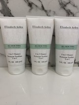 3x Elizabeth Arden 2 in 1 Cleanser All Skin Types 5oz NEW - $31.68