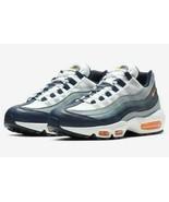 NIKE AIR MAX 95 SE Men's Running Shoes AJ2018 401 Midnight Navy/Orange s... - $77.97