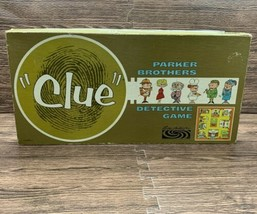 Vintage 1960 Clue Parker Brothers Detective Board Game Made In USA - $29.99