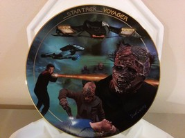 1997 Hamilton Collection The Vidiians Star Trek  Collector Plate W/ COA - $24.74