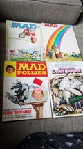 Mad Magazine National Lampoon Lot Of 4 - $9.70