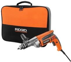 Reversible Drill 8 Amp Heavy Duty Variable Speed RIDGID Seamless Transpo... - $173.81