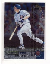 1999 Topps Finest #81 Kerry Wood Chicago Cubs Collectible Baseball Card - $0.99