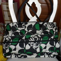 Vera Bradley ~ Lighten Up Expandable Travel Bag ~ Imperial Rose NWT - $56.50