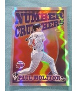 1997 Topps Season's Best #SB4 Paul Molitor Minnesota Twins Baseball Card - $1.00