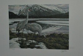 2000 Canada Conservation  & Stamp >> Sandhill Cranes >  LIt, Edition  - $44.55