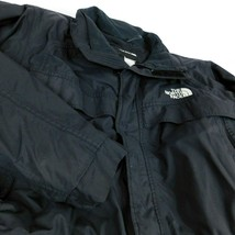 The North Face Ski Jacket Black  Sz M Hyvent No Hood Down Filled - $65.99