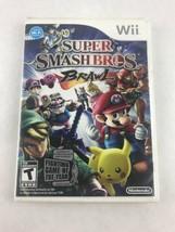 Super Smash Bros. Brawl (Nintendo Wii, 2008) — CASE ONLY — NO GAME NO MA... - $7.69