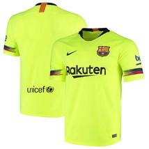 2018-19 Nike Breathe FC Barcelona Away Soccer Jersey Men's Size S Barca ... - $37.09